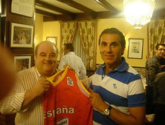 Sergio Scariolo y Luis