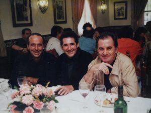 Serrat, Miguel Rios y Víctor Manuel
