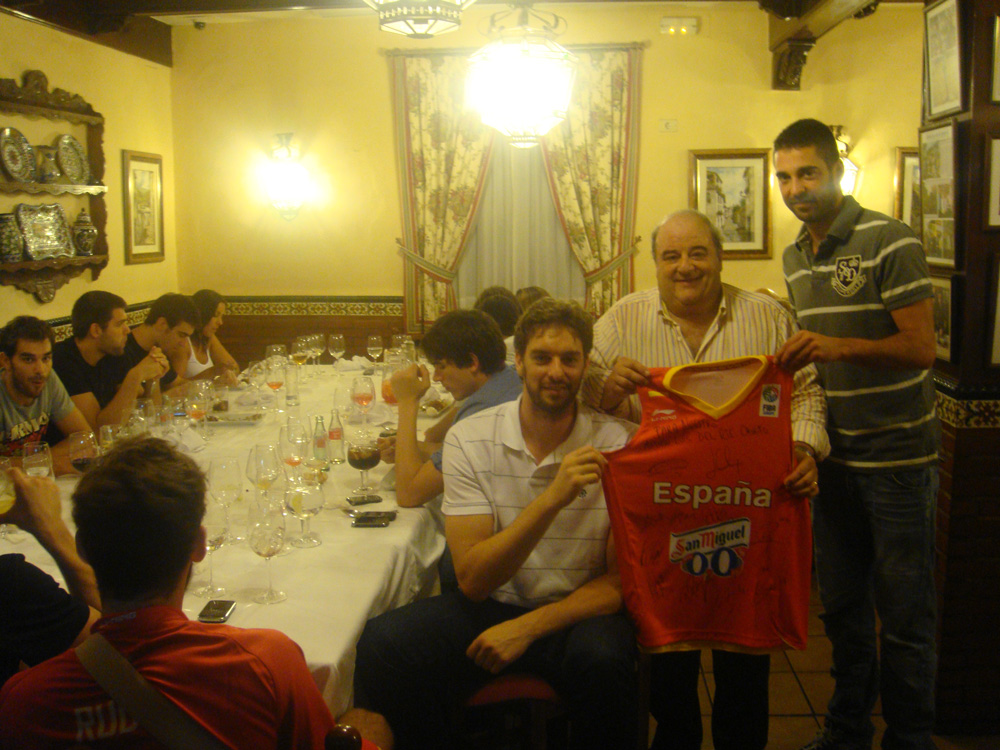 Selección Española de Baloncesto, Gasol, Navarro...