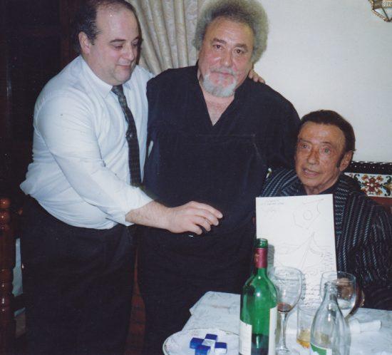 Enrique Padial y Carlos Acuña