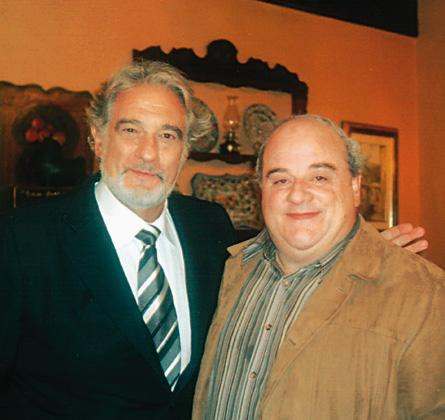 Plácido Domingo y Luis Oruezábal