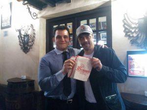 Benicio Del Toro y Daniel Oruezábal