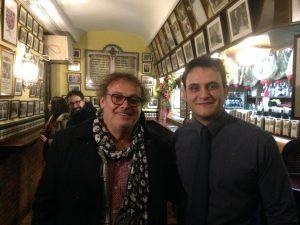 Pablo Carbonell con Daniel Oruezábal