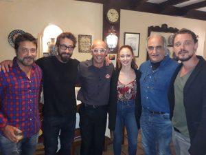 Enrique Arce, Ismael Martinez,Elena Rivera,Francesc Orella y Federico Aguado