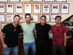 Iñaki Urrutia, Dani Martínez, Julián López,