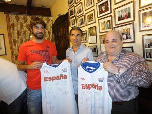 Navarro y Sergio Scariolo